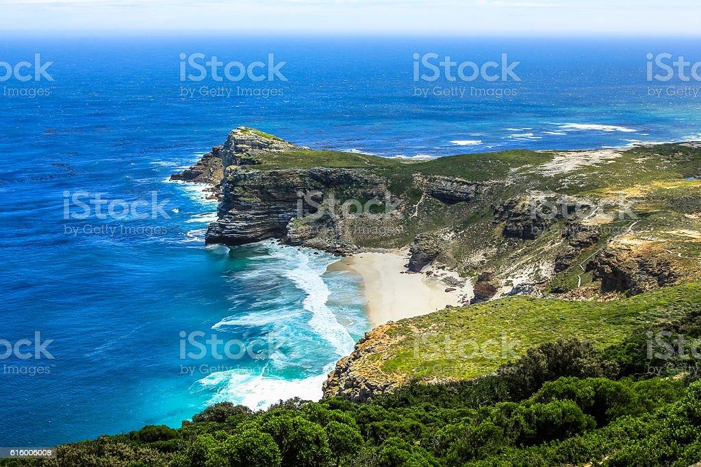 Dias Beach aerial view stock photo