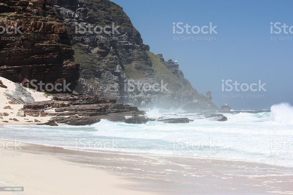 Diaz Beach, cape of good hope stock photo