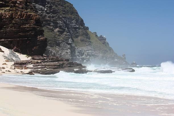 Diaz Beach Cape point-Kap der guten Hoffnung Südafrika - foto de acervo