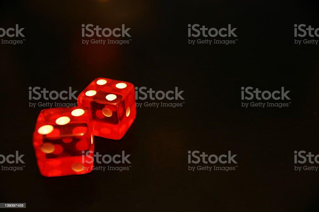 dice 5 royalty-free stock photo
