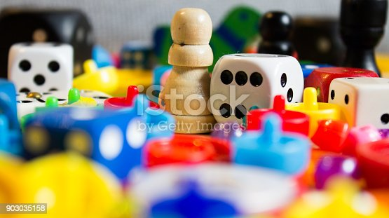 istock dice and small games for children 903035158