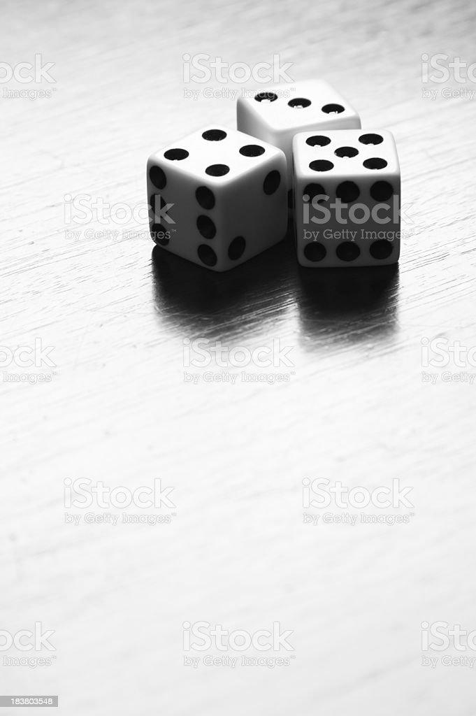 Dice Gambling royalty-free stock photo