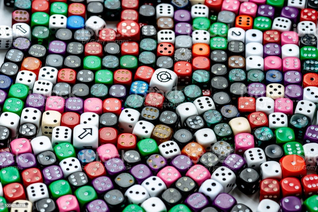 dice games background