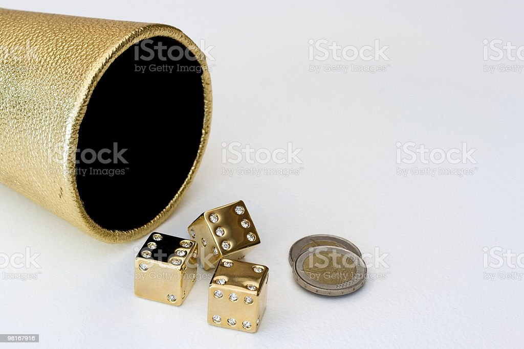 Dice Games royalty-free stock photo