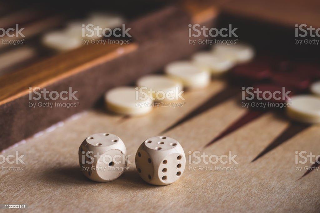 Wooden board game.