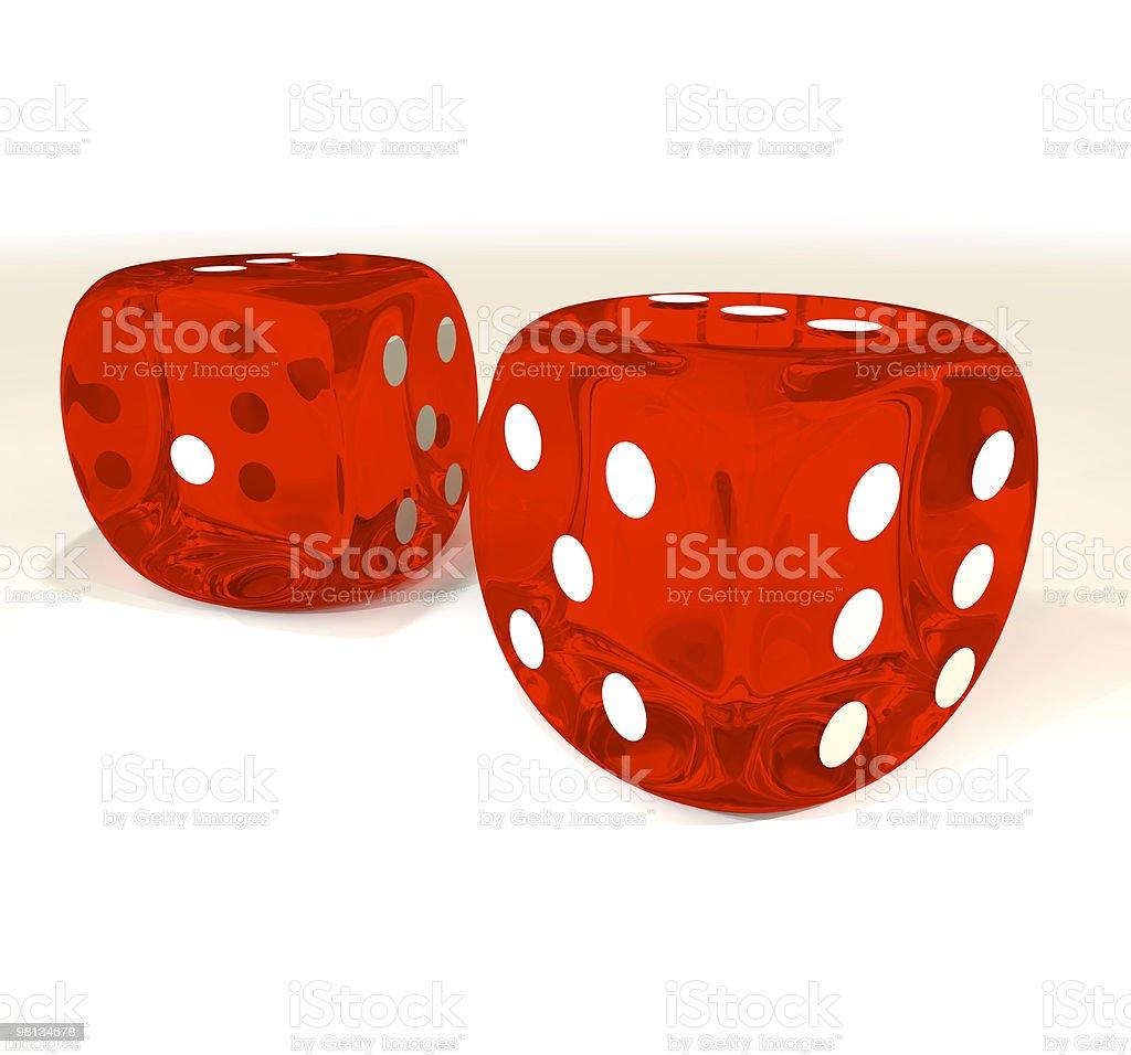 dice pair royalty-free stock photo