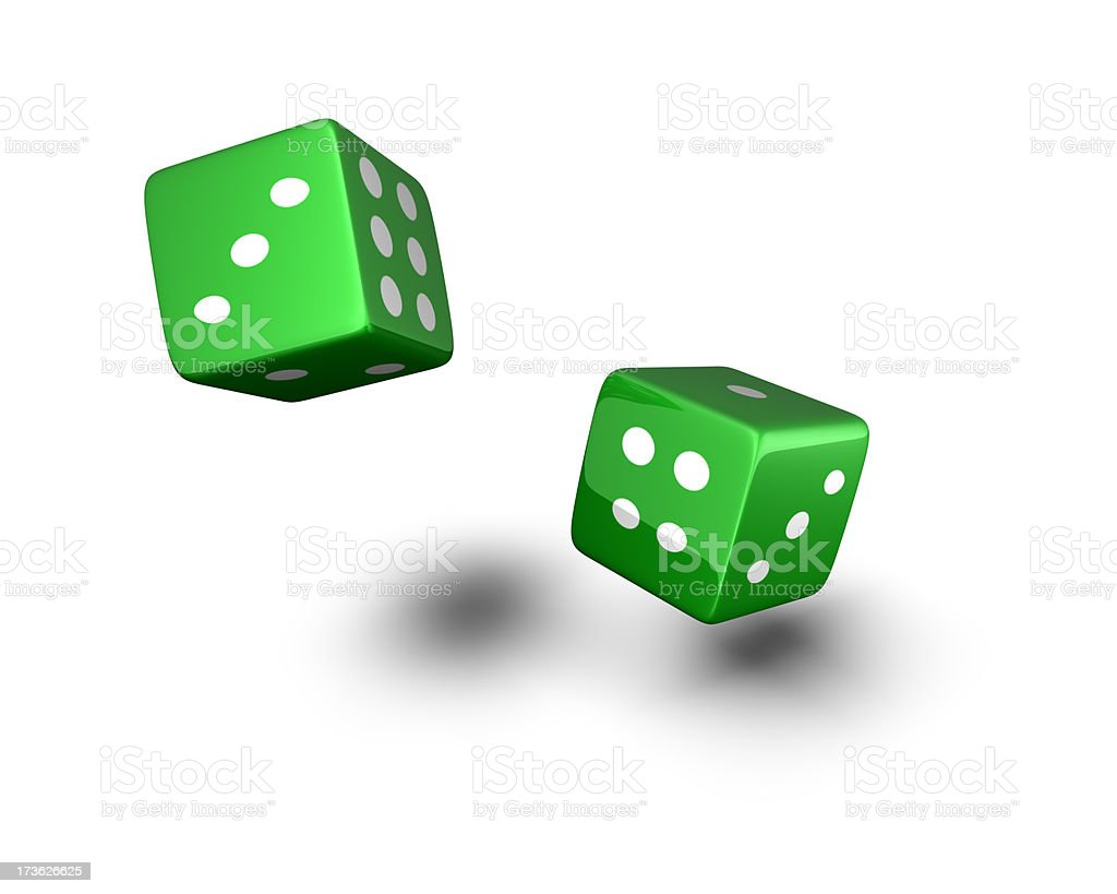 dice royalty-free stock photo