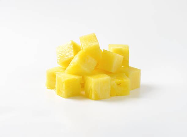 Dés d'ananas - Photo