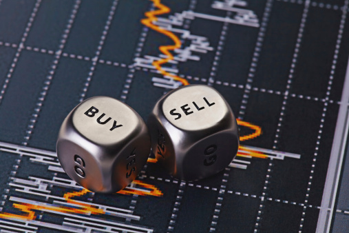 Dices Cubes To Trader Stock Photo - Download Image Now