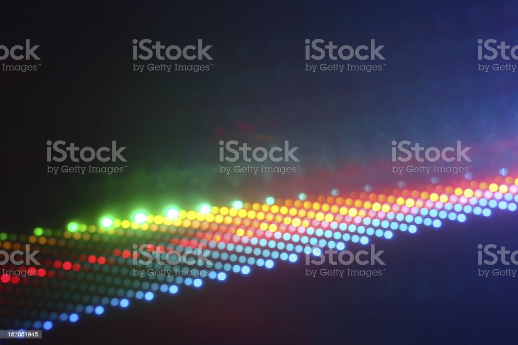 dichroic filters part 4 royalty-free stock photo