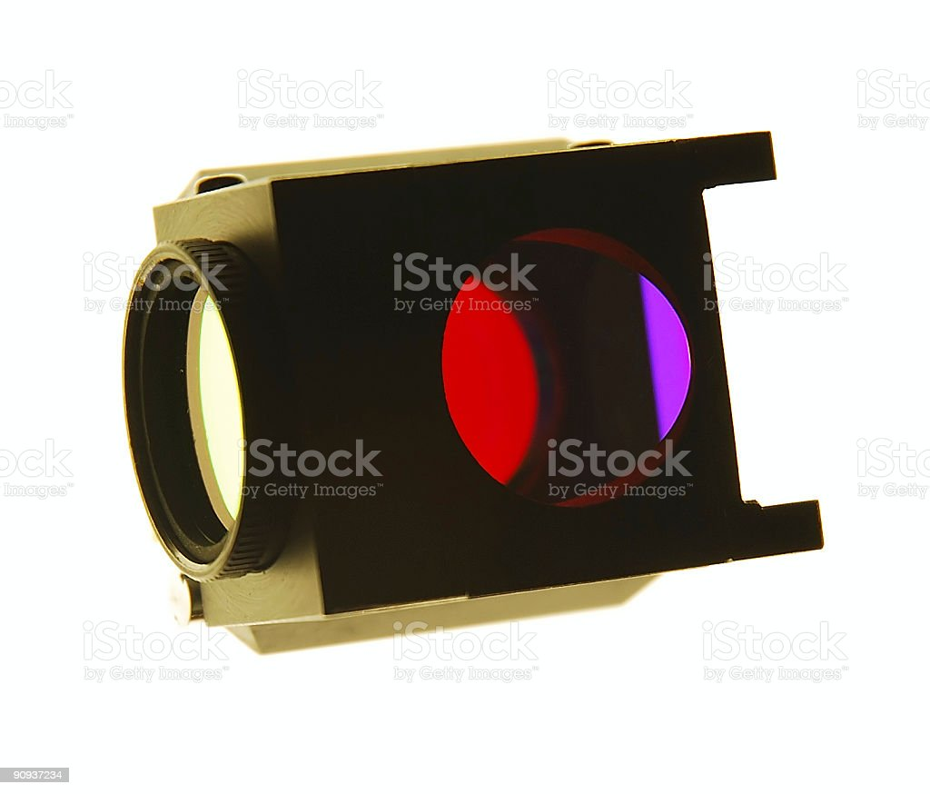 Dichroic filters royalty-free stock photo