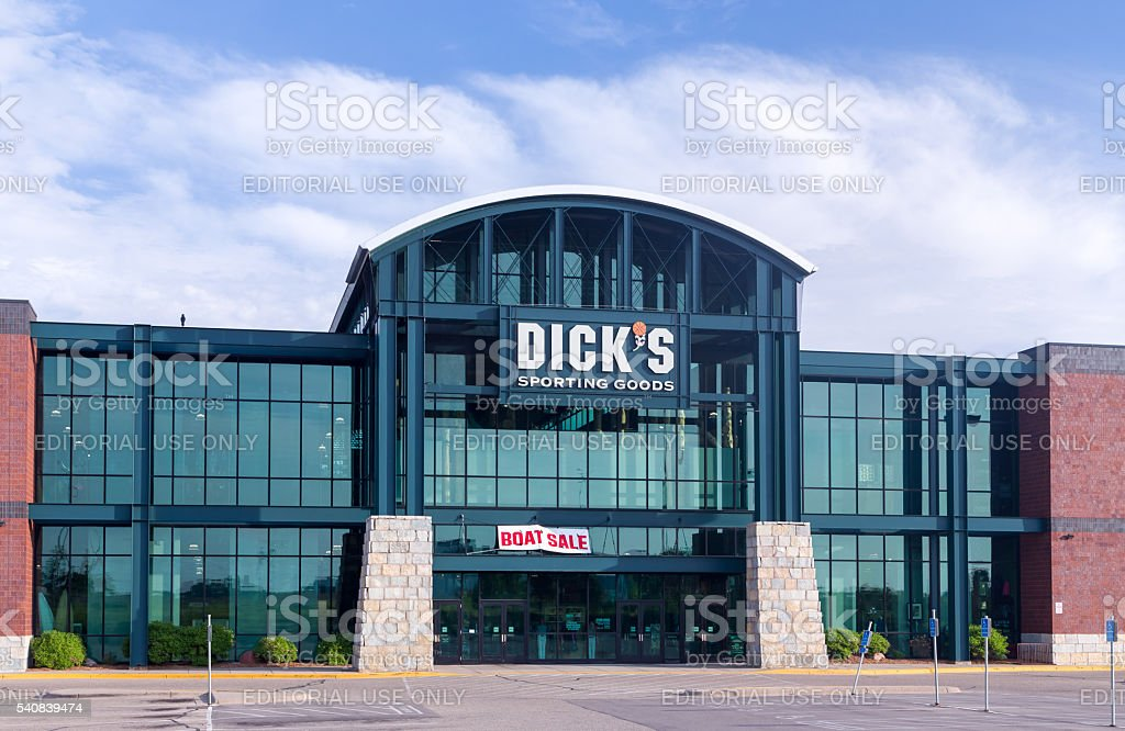 Dick's Sporting Goods Exterior stock photo
