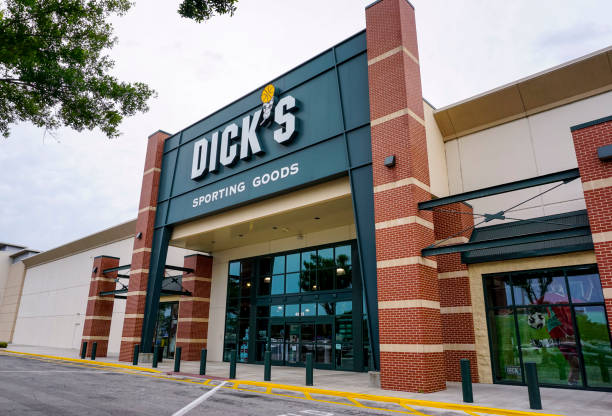 Dick's Sporting Goods Sports store in Orlando, Florida Dick stock pictures, royalty-free photos & images