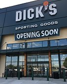 Fairview Heights, IL--September 15, 2017, Dick's Sporting Goods prepares to open new store at former location of Sport Authority.  Photo By Phil Rozenski, Shiloh, IL