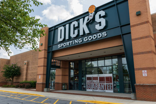 Dick's Sporting Goods storefront stock photo