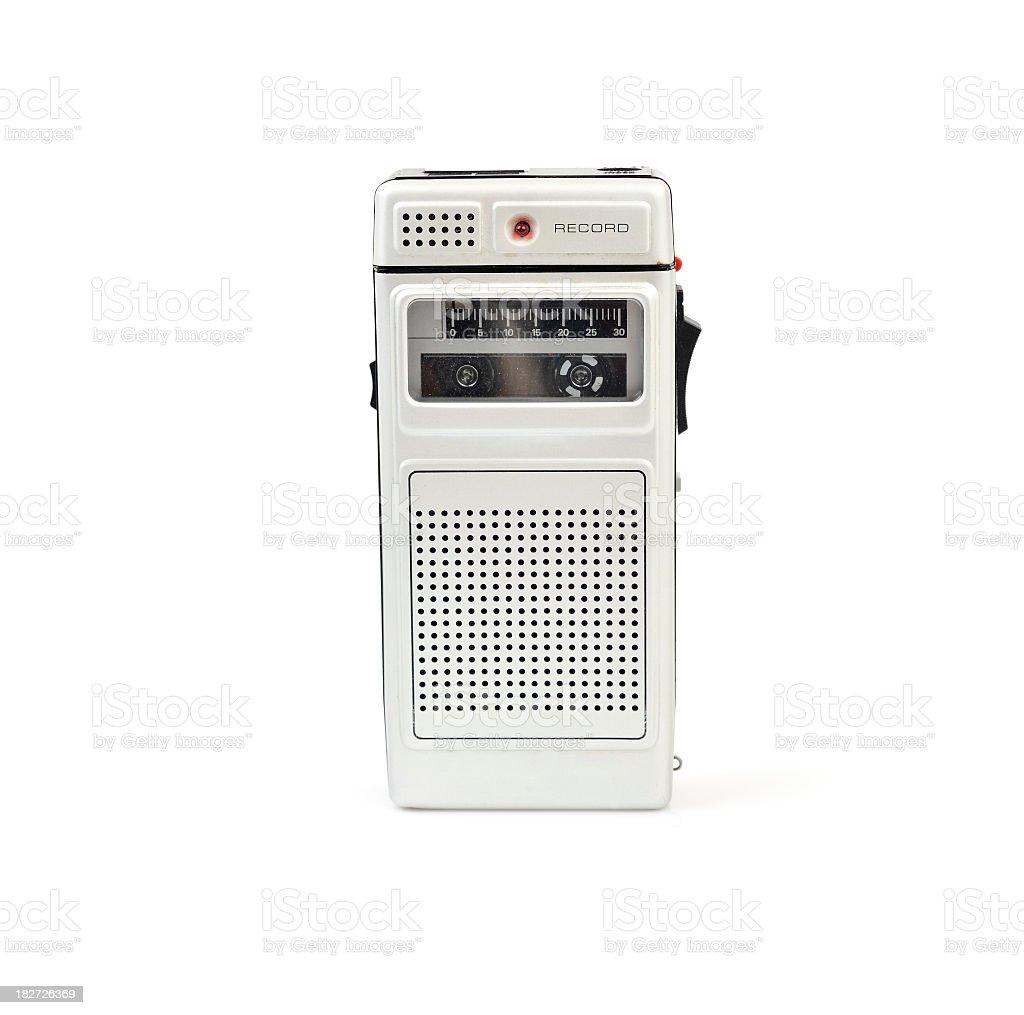 Dictaphone stock photo