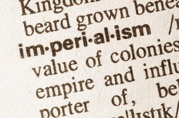 wörterbuch-definition der wort imperialismus - imperialismus stock-fotos und bilder