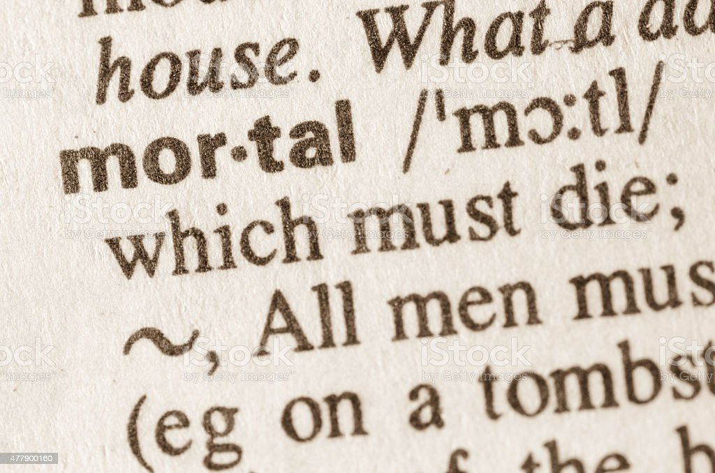 Dictionary definition of word stock photo