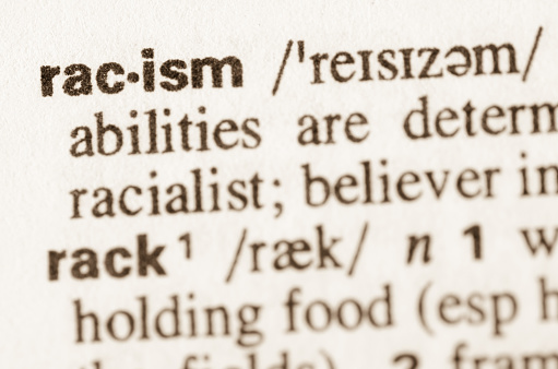 Dictionary definition of word racism