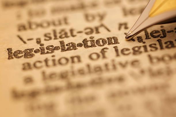 Dictionary Series : Legislation stock photo