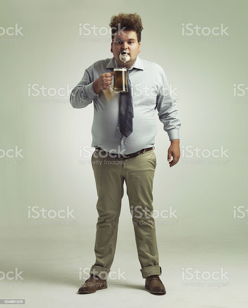 Did I get something on my face? stock photo