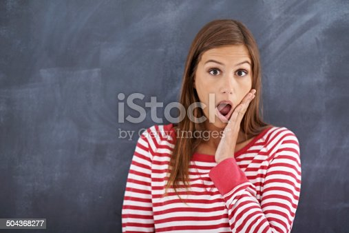 istock Did I remember to turn the iron off? 504368277