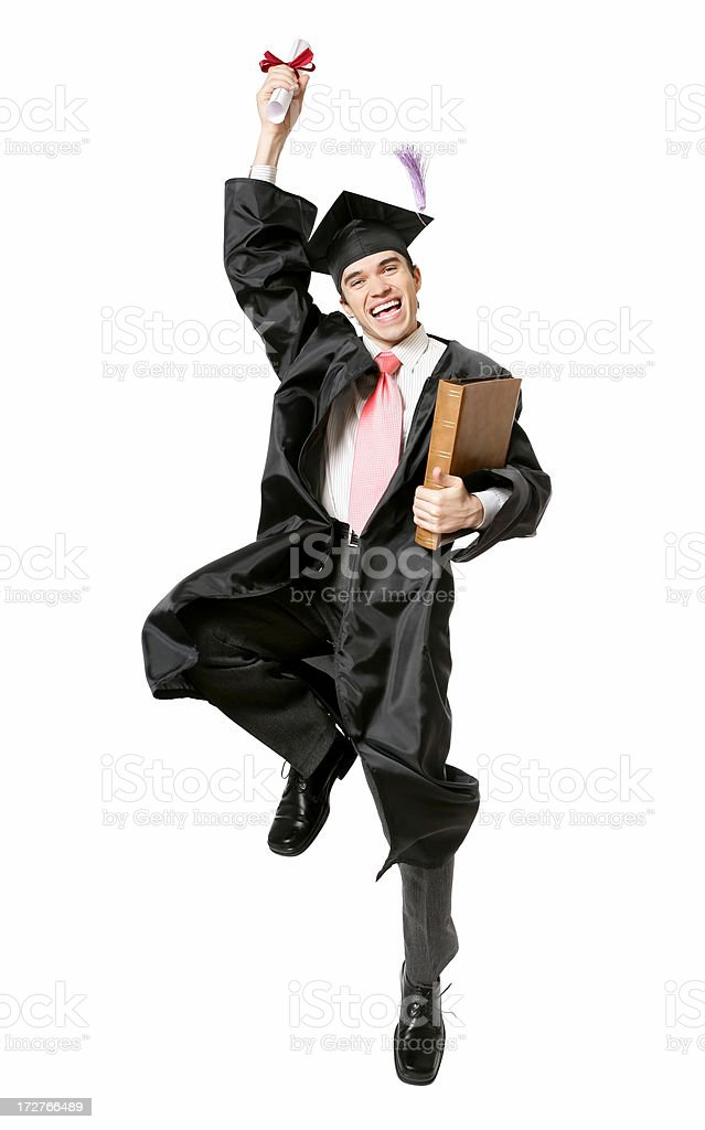 I did it! royalty-free stock photo