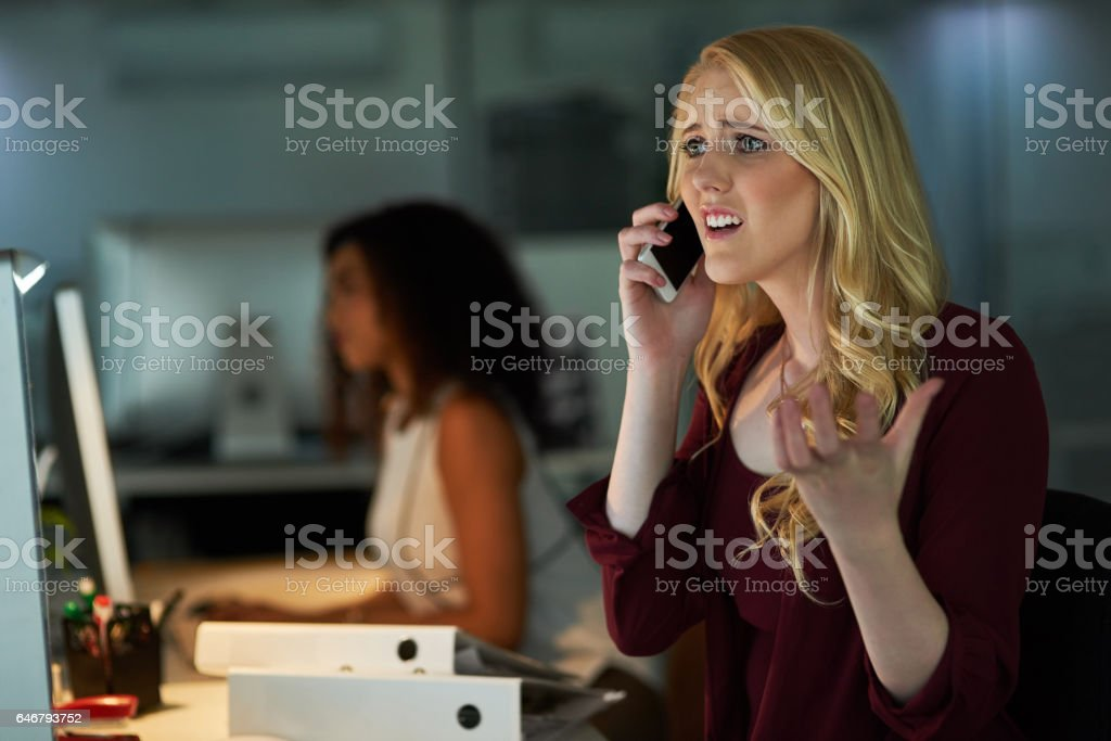 I did not authorize that! stock photo