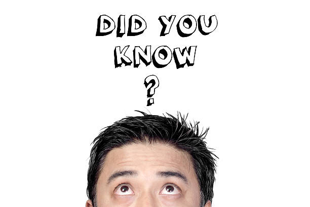 Did you know stock photo