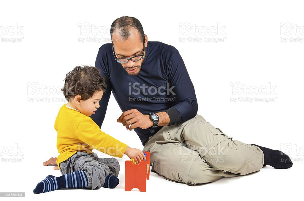 Didactic children Therapy stock photo