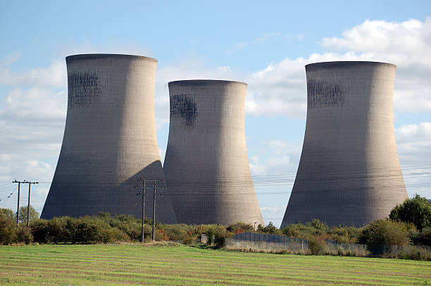 Didcot Power Station stock photo