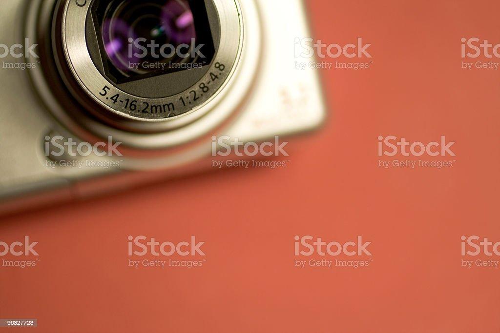 Didital camera detail royalty-free stock photo