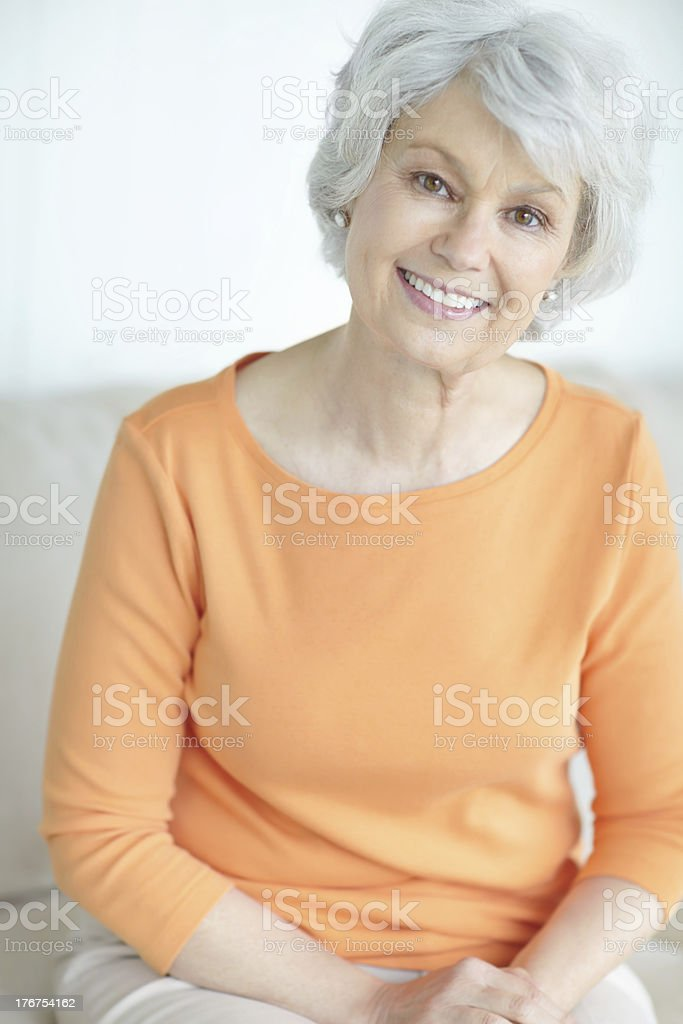 I didn't know retirement could be this relaxing stock photo