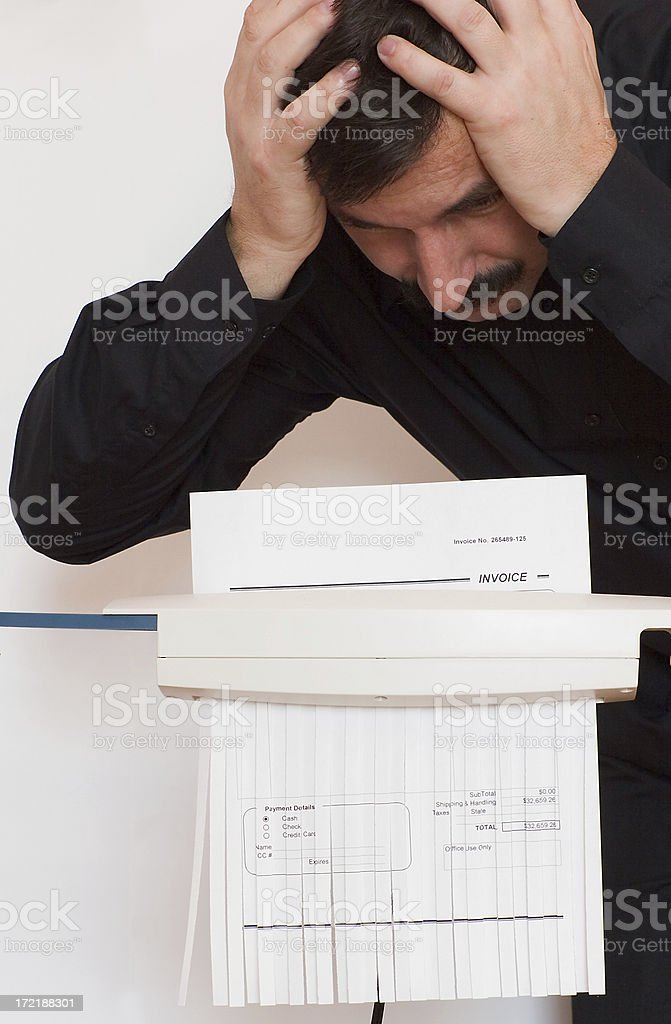 I didn't mean it! royalty-free stock photo