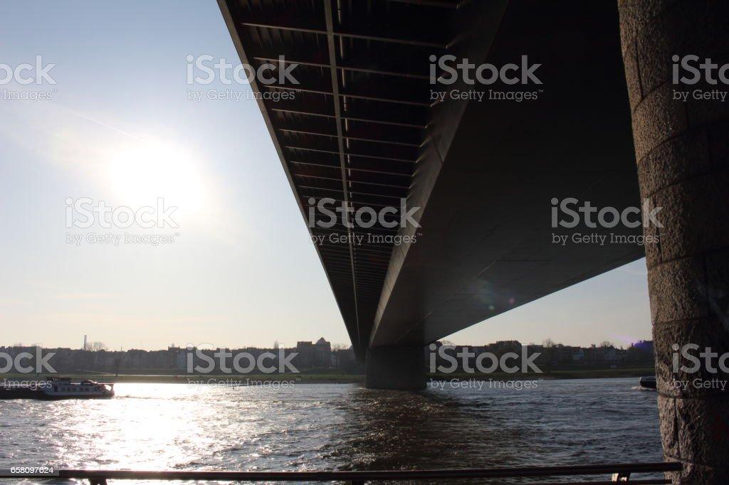 Die Brücke royalty-free stock photo