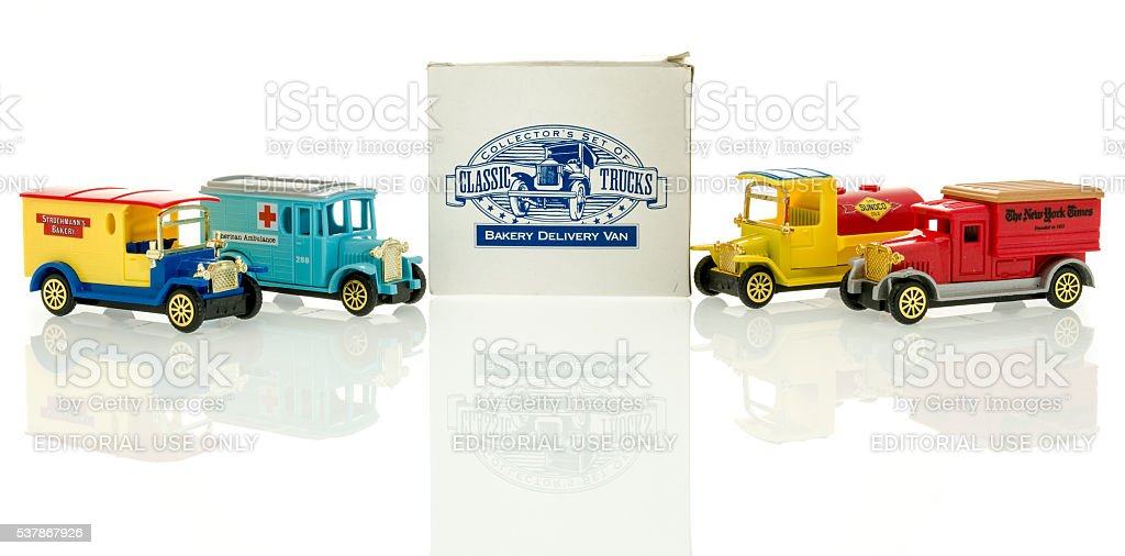 Die Cast Truck stock photo