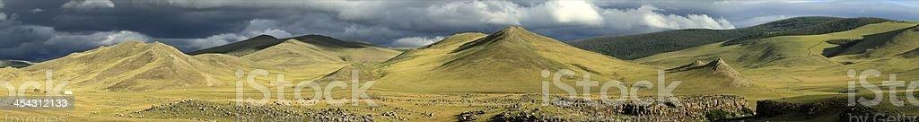 Die Mongolei royalty-free stock photo