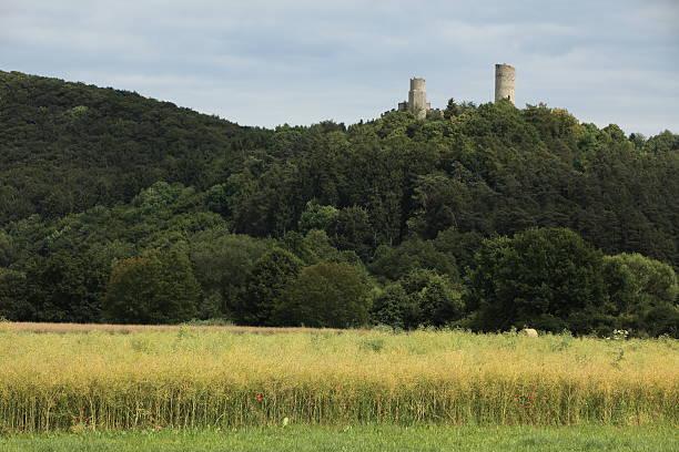 Die Ruine Brandenburg bei Lauchröden Die Ruine Brandenburg bei Lauchröden ruine stock pictures, royalty-free photos & images