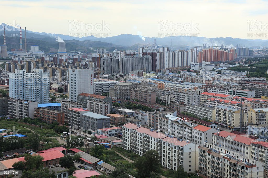 Die Stadt Chengde in China stock photo