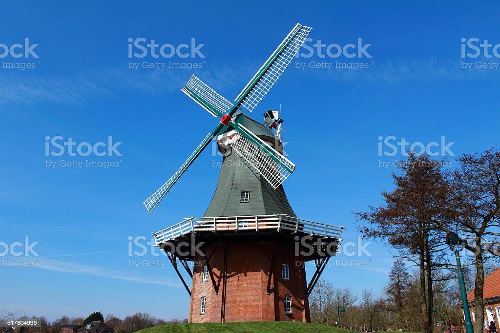 die Windmühle stock photo