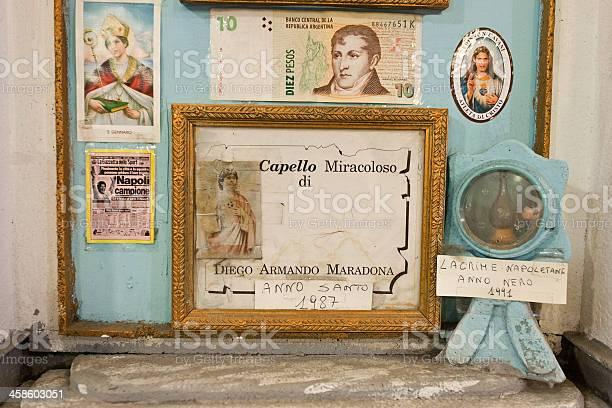 Foto de Diego Armando Maradona Miracolous Cabelo Em Nápoles e mais fotos de stock de Cabelo Humano