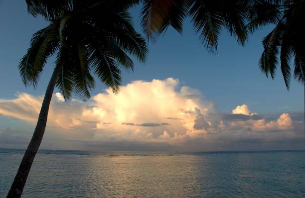 Diego Garcia Coucher du soleil - Photo