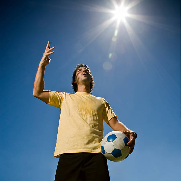 diego 마라도나, 손 of 하나님. 축구 컨셉입니다. - maradona 뉴스 사진 이미지