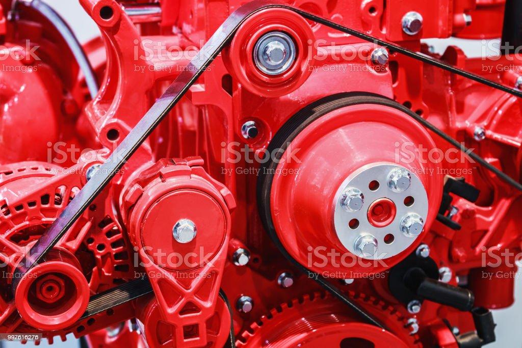 Diesel-Motor-Ersatzteile für Baumaschinen – Foto