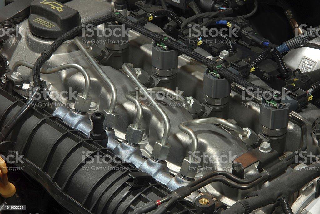 diesel-Motor – Foto