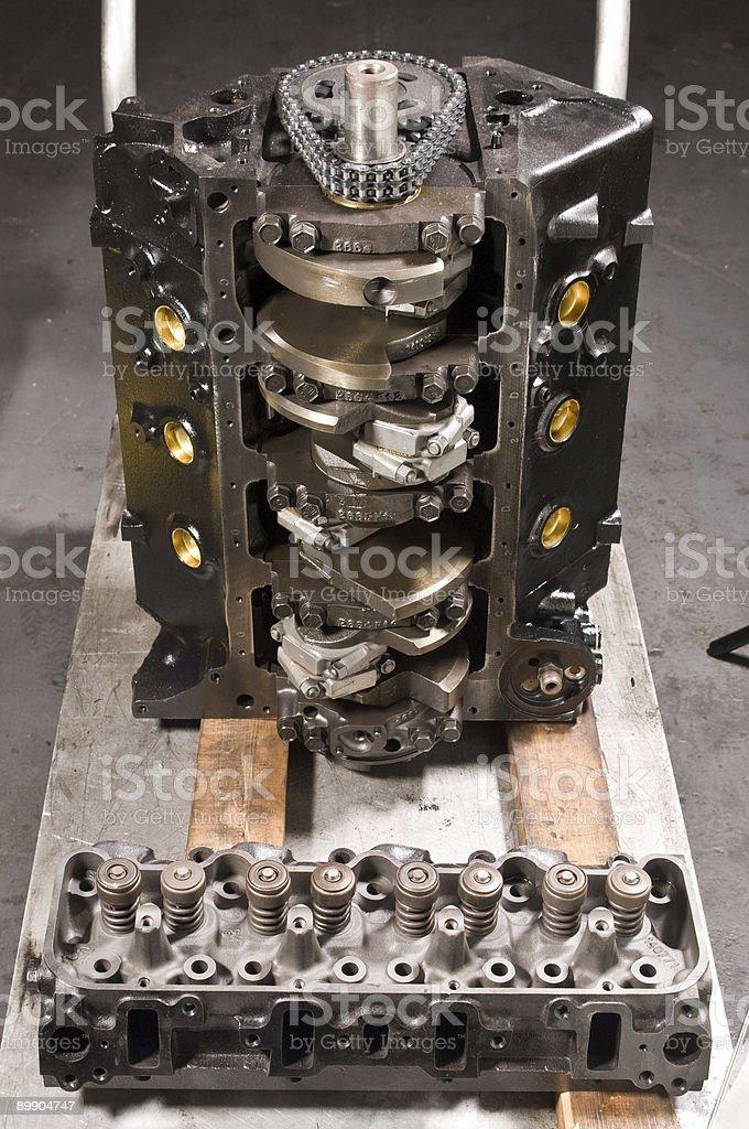 Diesel engine royalty-free stock photo