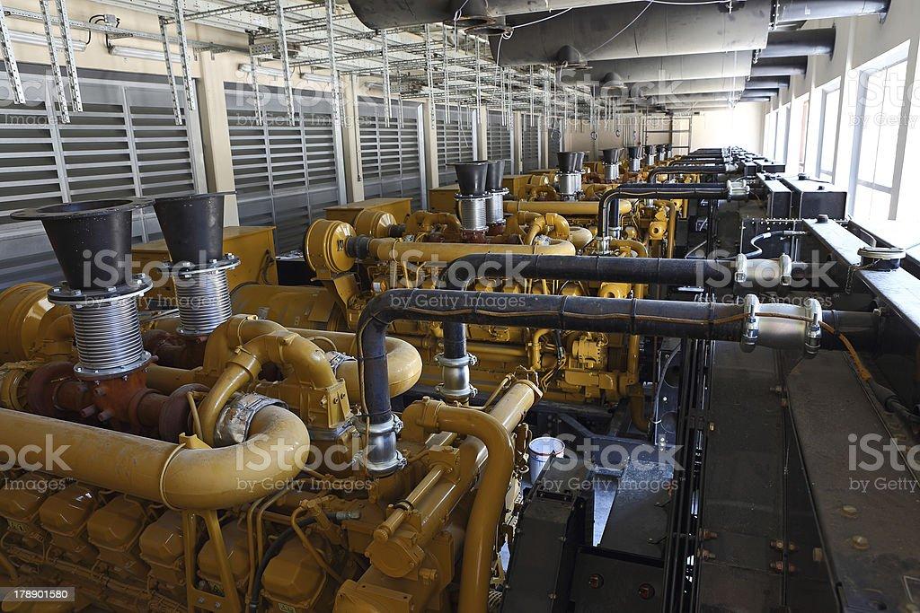 Diesel-Generatoren – Foto