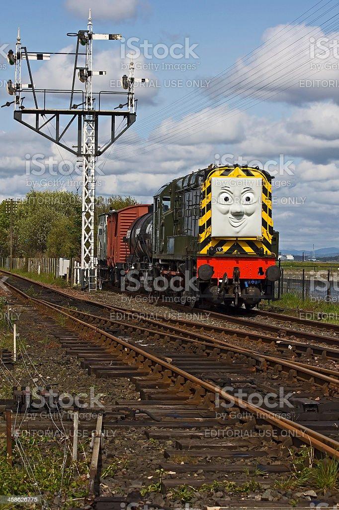 Fotografía de Diesel Tren De Thomas El Tanque Motor Con Señales De ...