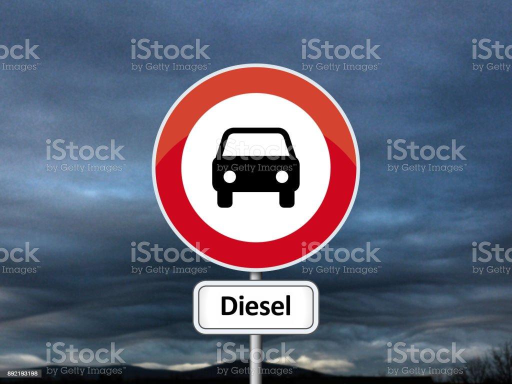 Dieselgate - Lizenzfrei Abgas Stock-Foto