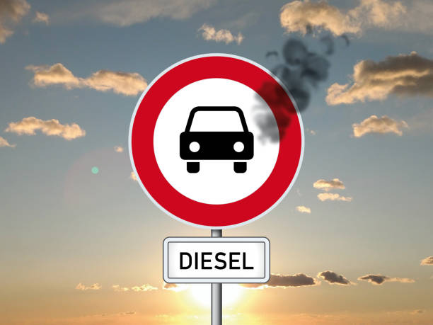 Dieselgate scandal Pollution in the city diesel stock pictures, royalty-free photos & images